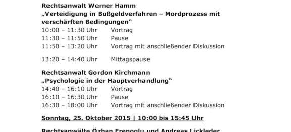 1. Münchener Aussprachetag – 2015